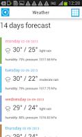 Screenshot of Indonesia Offline Map &Weather