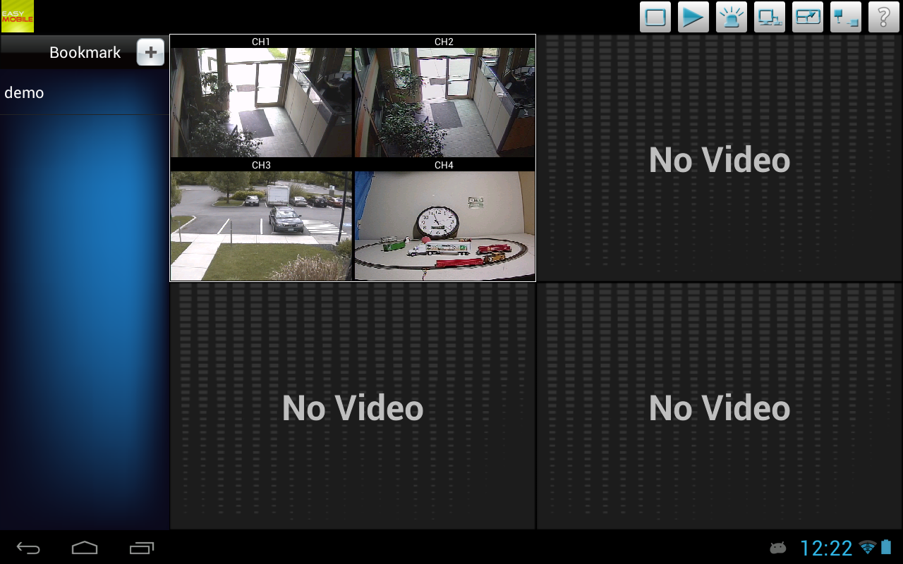 OpenEye EasyMobile HD- screenshot