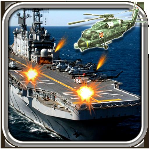 海軍:武裝直升機航母編隊: Gunship Battle 動作 App LOGO-APP試玩