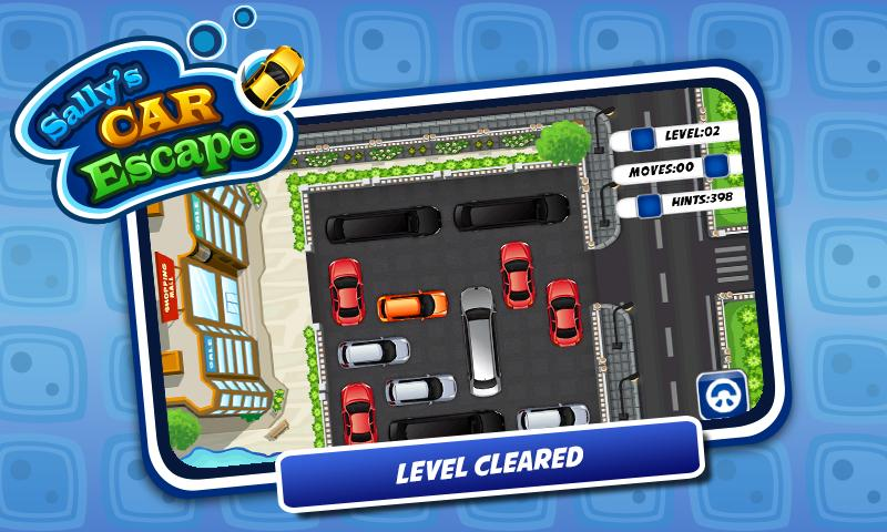 Sally Car Parking - Girls Game - screenshot