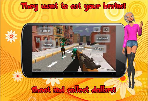 殭屍青少年3D射擊遊戲