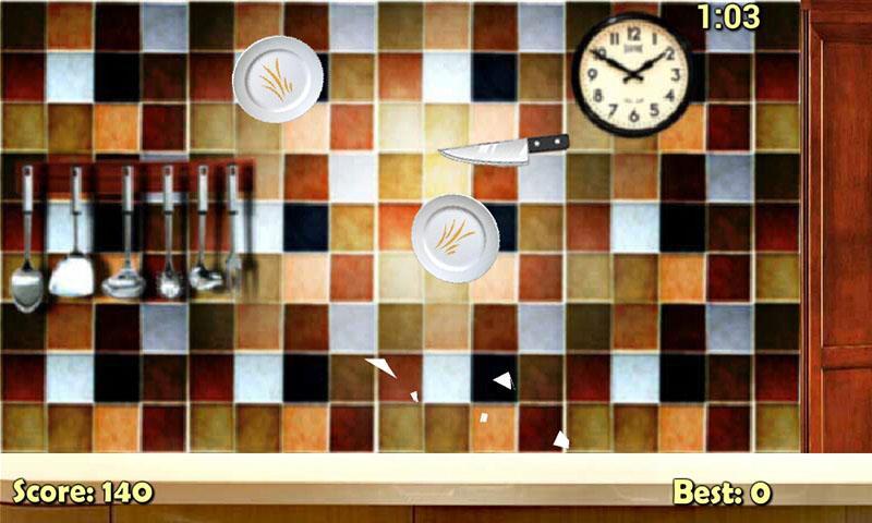 لعبة تحطيم الأطباق - screenshot
