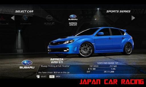 Japan Car Racing