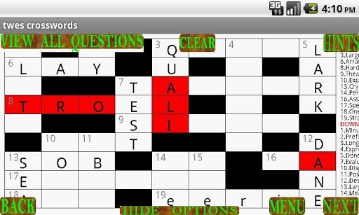 Twes Crosswords Lite