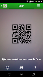 QR Droid Code Scanner Screenshot 1