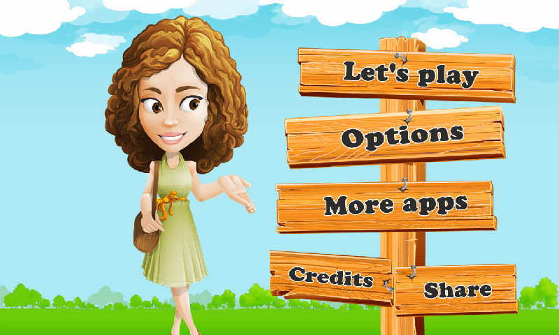 Kids educational game- screenshot