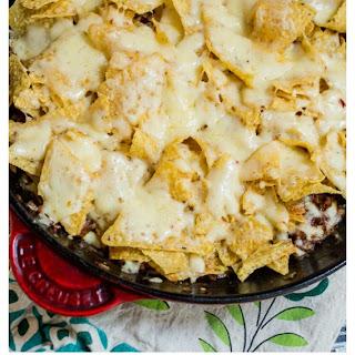 Skillet Taco Nacho Bake