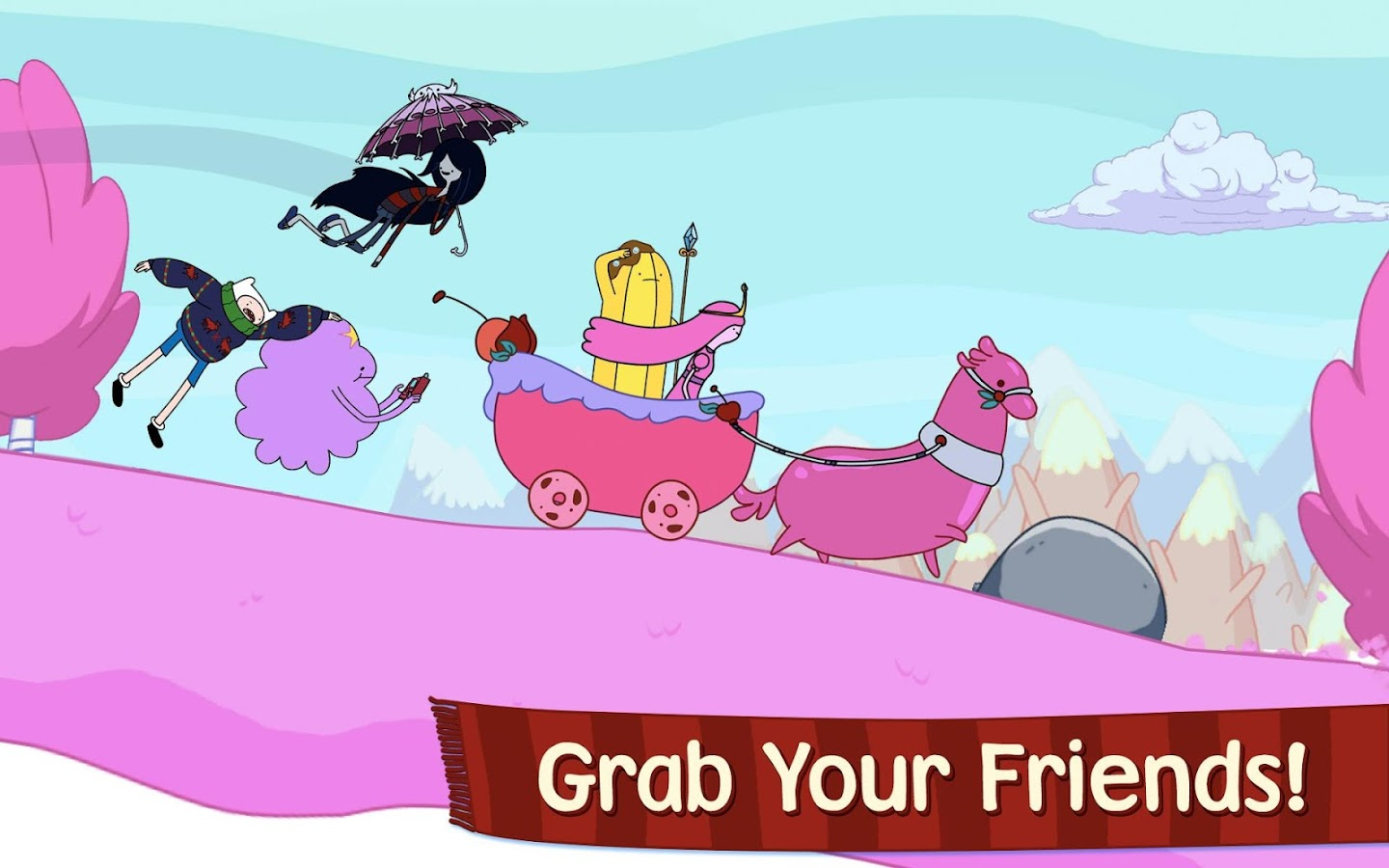Ski Safari: Adventure Time- screenshot