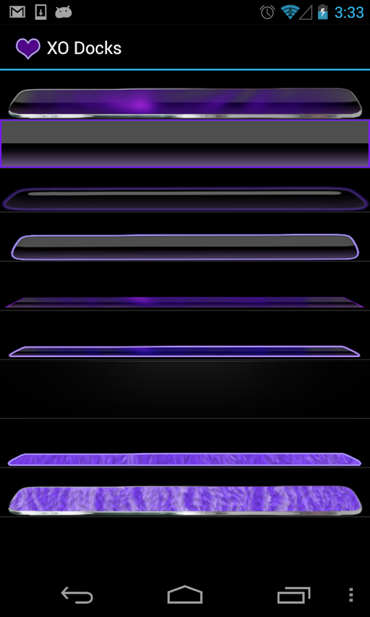 Purple Neon Complete 4 themes- screenshot