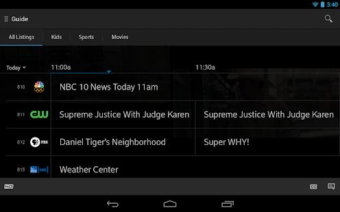 XFINITY TV- screenshot thumbnail