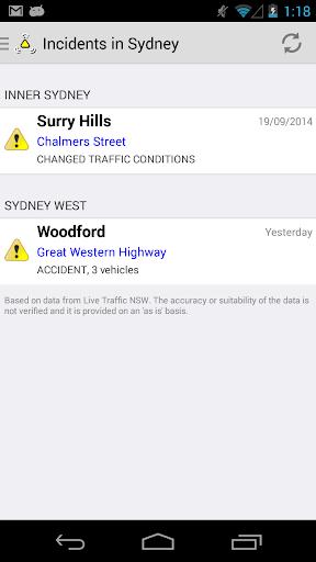 Traffic NSW