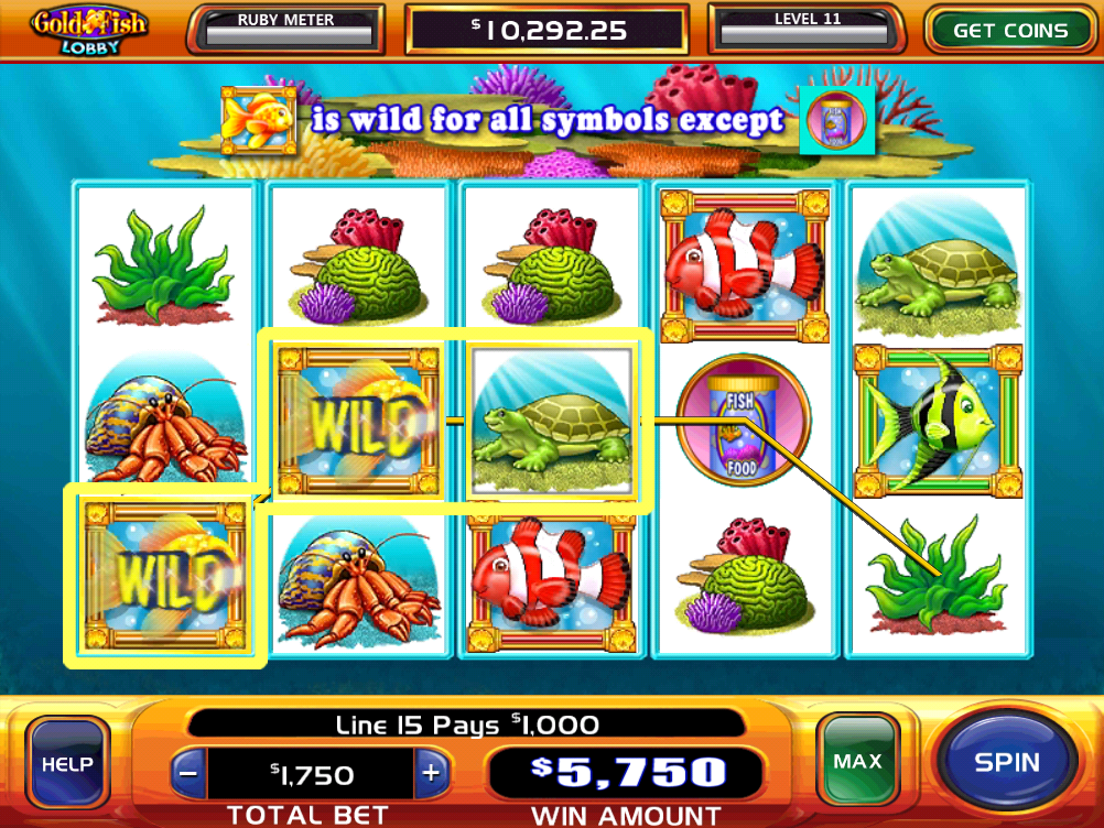 williams interactive goldfish slots