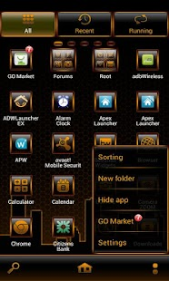 SoBurnt(free) Go Launcher - screenshot thumbnail
