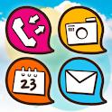 Soft Bubble Gum Atom Iconpack