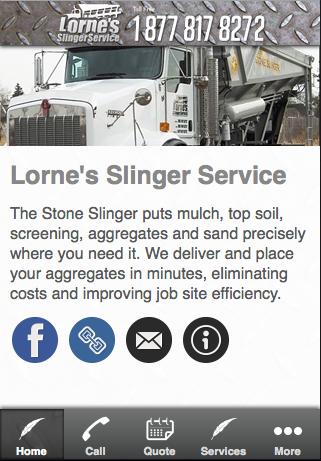 Lorne's Slinger Service