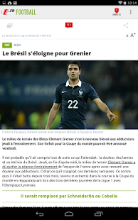 L'Equipe.fr : foot, rugby Screenshot 15