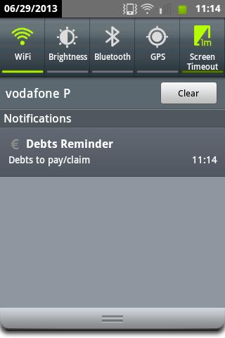 【免費財經App】Debts Reminder-APP點子