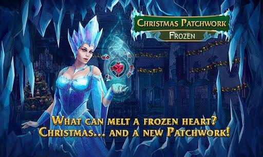 Christmas Mosaics. Frozen Free