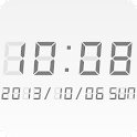 LED clock widget BT-Me Clock icon