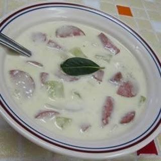 Potato and Turkey Sausage Soup