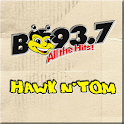 All The Hits, B93.7!!! logo