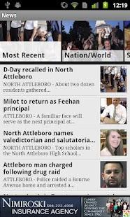 The Sun Chronicle,Attleboro,MA - screenshot thumbnail