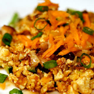 Sweet Potato & Shiitake Tofu Scramble.
