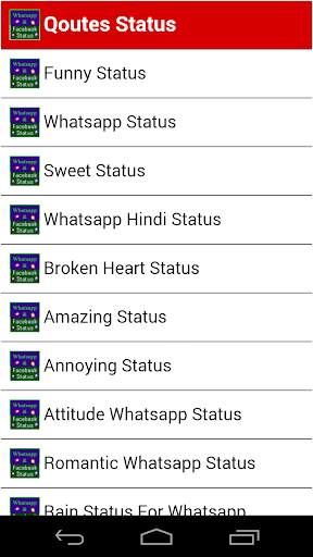 All status 2015