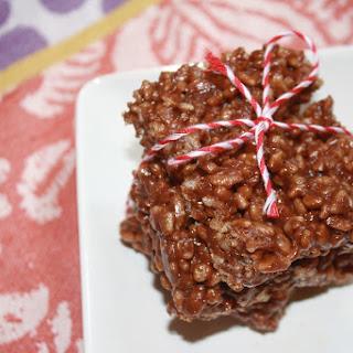 Peanut Butter Chocolate Crispy Treats