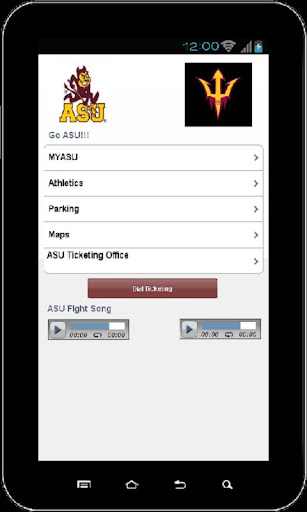 Go ASU Arizona State Univ