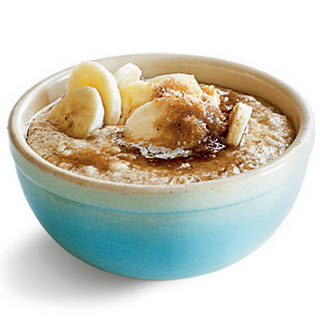 Banana, Wheat Germ, and Oats