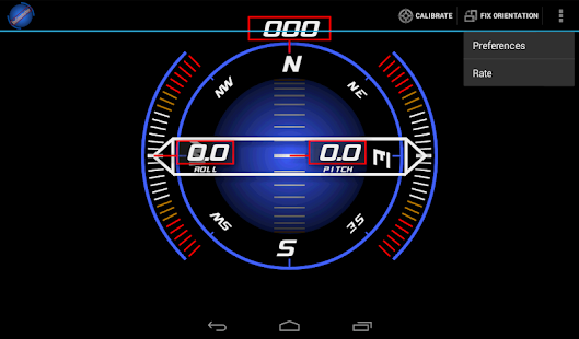 Inclinometer (+Compass)- screenshot thumbnail