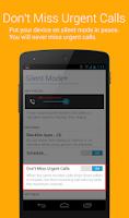Screenshot of Silent Mode+ (do not disturb)