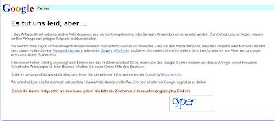 googles Menschverfikation