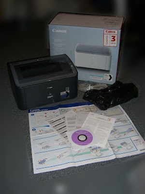 Drucker mit Lieferumfang