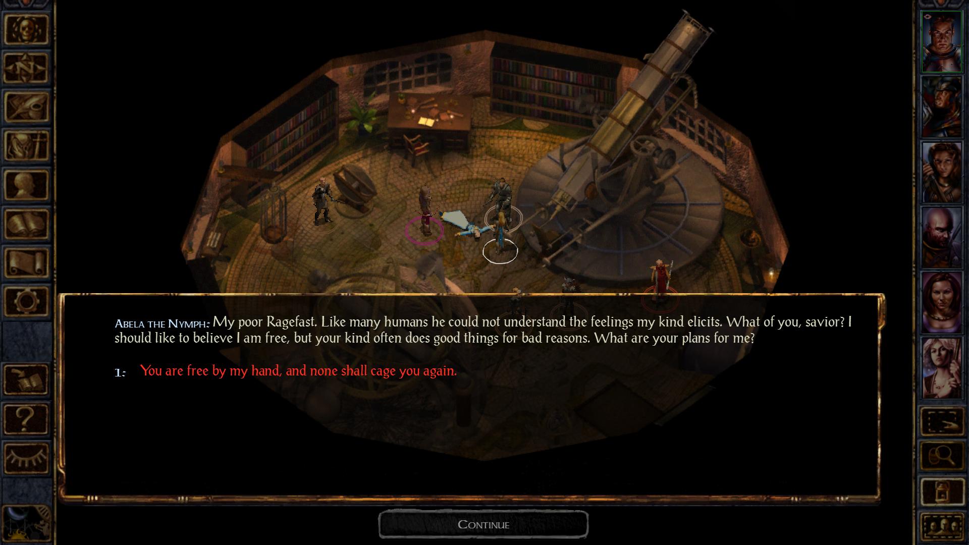 Baldur's Gate Enhanced Edition screenshot #1