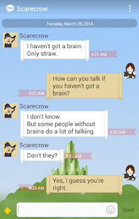 Wizard Of OZ - KakaoTalk Theme - screenshot thumbnail