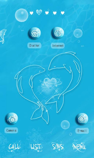 CUKI Theme Dolphins In Blue