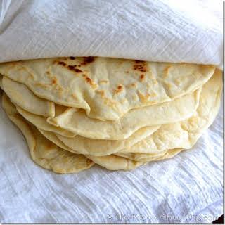 Homemade Tortillas.