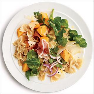 Prosciutto and Melon Pasta Salad.