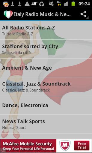 Italian Radio Music News