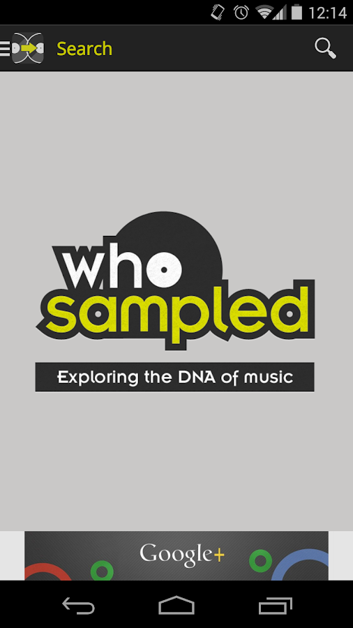 WhoSampled: Hip Hop, Rap and Dance Music Explored- screenshot