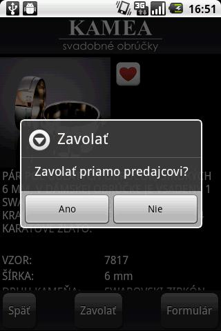 Svadobne Obrucky- screenshot