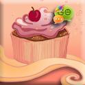 Cupcake Free GO SMS PRO THEME icon