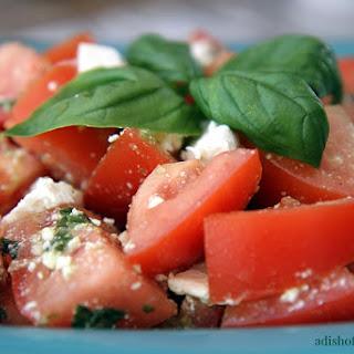Tomato, Basil and Feta Salad
