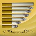 Cigarette battery widget logo