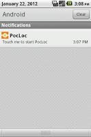 Screenshot of PocLoc