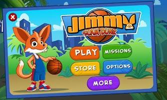 Screenshot of Jimmy Slam Dunk