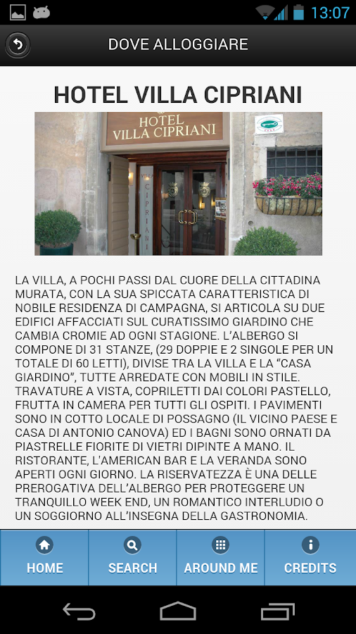 Asolo Official Mobile Guide- screenshot