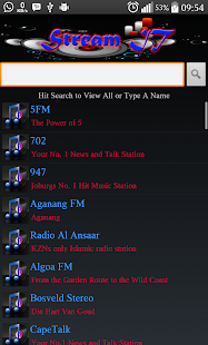 StreamIT Radio- screenshot thumbnail